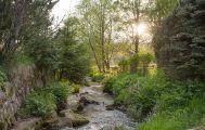 Bergbach im Garten