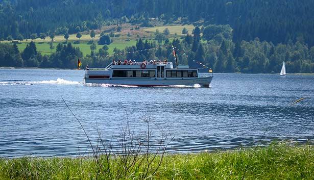 Seerundfahrt auf dem Schluchsee